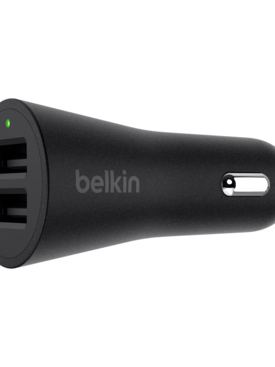 BOOST↑UP™ 2-Port Car Charger 24W/4.8A