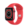 Apple Watch Series 6 GPS 44mm Product RED Aluminum Sport Band PDP Image Position 1 WWEN