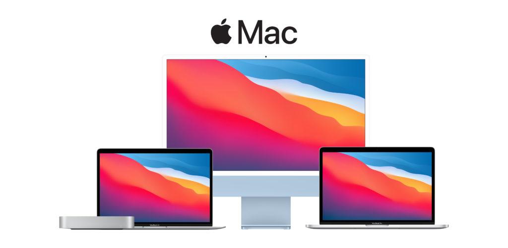 Mac Family (Mac mini, MacBook Pro, MacBook Air & iMac)